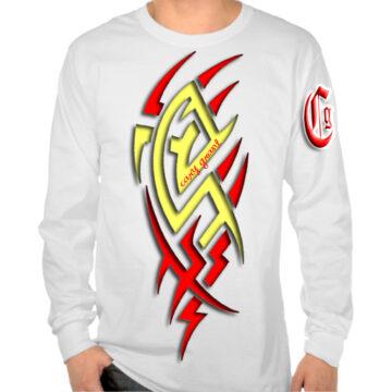 CSM 14 – cg white longslvw red