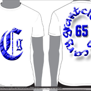 CSM 16 – CG WHITE T BLUE