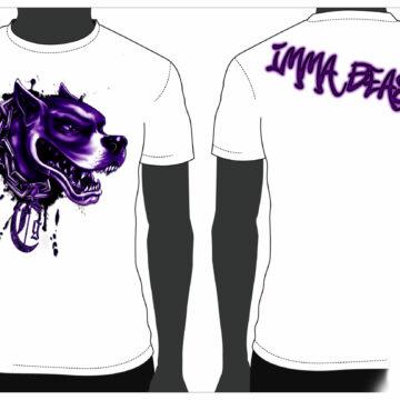 CSM 18 – imma beast white shirt sample